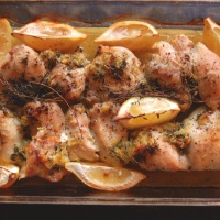 Lemon Thyme Baked Chicken