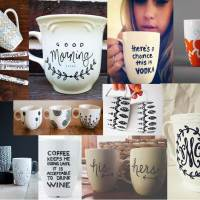 """Sharpie"" Mugs"