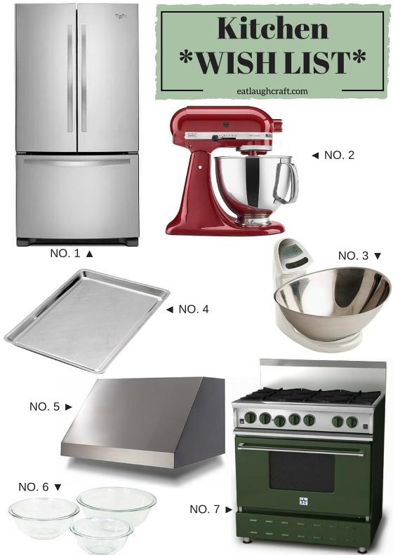 Kitchen Wish List