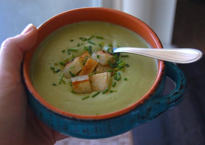 Creamy Potato Leek Soup 2