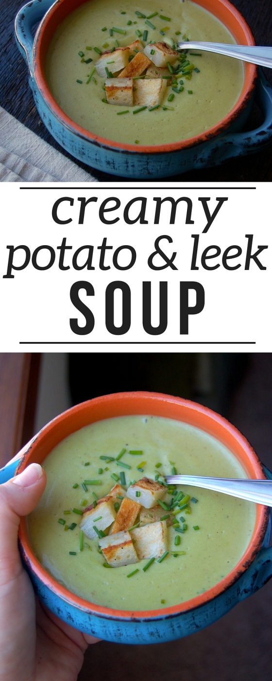 Potato Leek Soup Pinterest