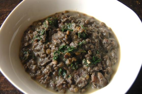 Creamy Lentil Stew 3