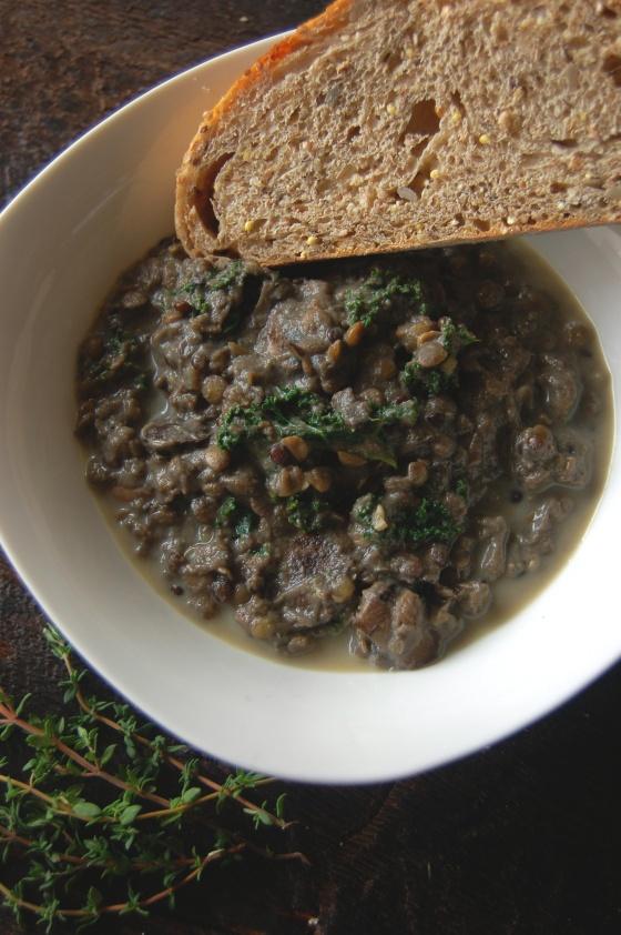 Creamy Lentil Stew 5