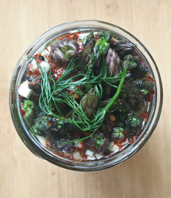 Fermented Asparagus 1