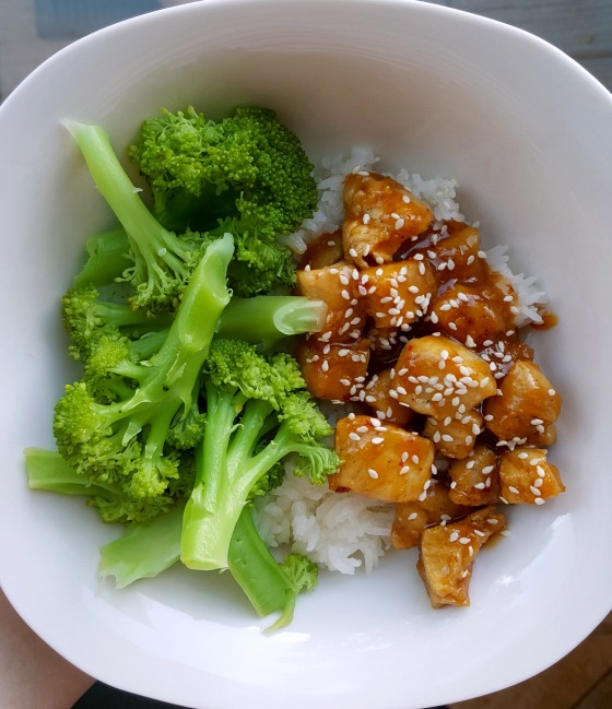 Honey Lemon Chicken Bowl 2
