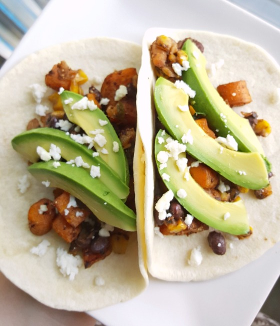 Roasted Carrot Tacos 1